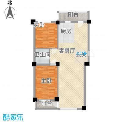 澜・语107.12㎡澜・语户型图户型图2室2厅1卫1厨户型2室2厅1卫1厨