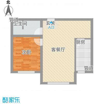 世纪新城85.00㎡世纪新城2室户型2室