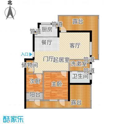 保利花园第五季保利花园第五季户型图G(EF顶层)户型3室2厅1卫户型3室2厅1卫