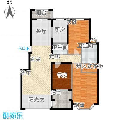 中房凌云花园142.00㎡中房凌云花园3室户型3室