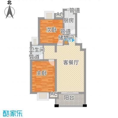 大上海紫金城92.09㎡大上海紫金城户型图户型图2FB2室2厅1卫1厨户型2室2厅1卫1厨
