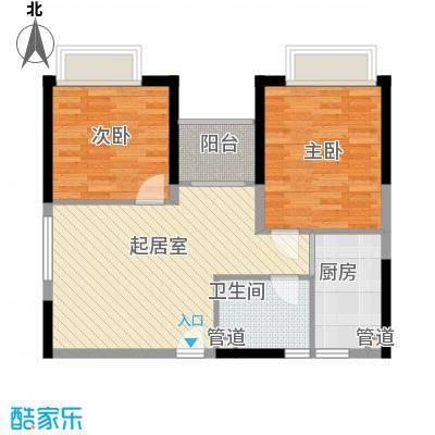 宜景康源80.00㎡宜景康源1室户型1室