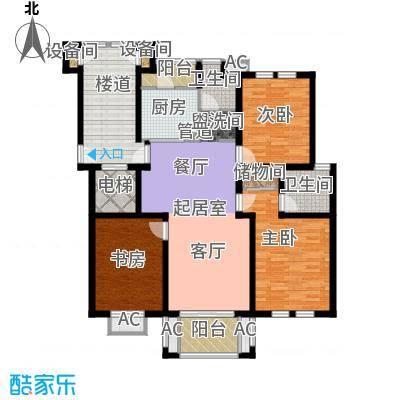 利丰花园115.00㎡利丰花园3室户型3室