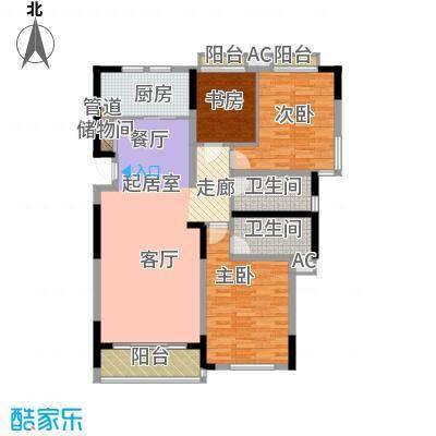 大地华园131.21㎡大地华园户型图3室2厅2卫户型10室