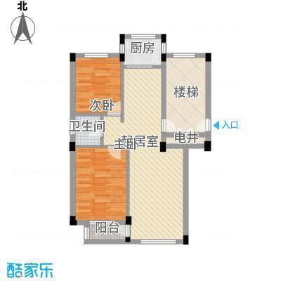 长城世家84.90㎡长城世家户型图2室2厅1卫1厨户型10室