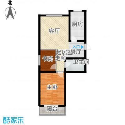篁村社区文化活动中心篁村社区文化活动中心2室2厅1卫户型2室2厅1卫