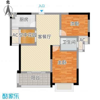 航道局宿舍(东城)航道局宿舍(东城)2室户型2室