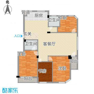 金湾新城四期金湾新城四期户型图4室户型图4室2厅2卫1厨户型4室2厅2卫1厨