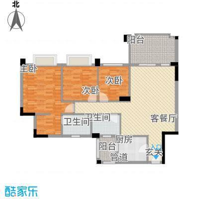 金华花园金华花园3室户型3室