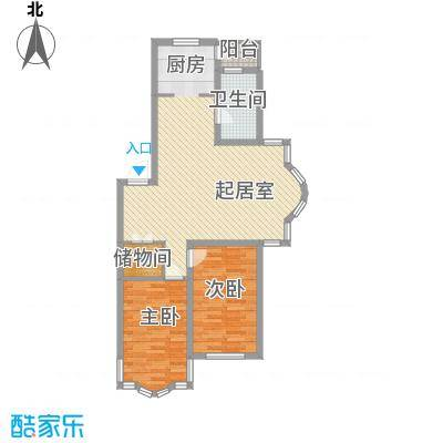 柳湖绿园柳湖绿园户型图2室2厅1卫户型10室