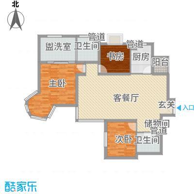 凤翔新城二期 3室 户型图