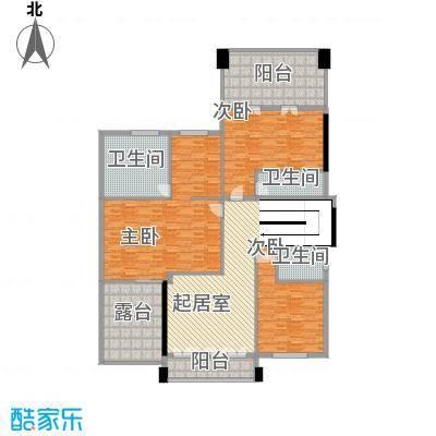 东城名苑3室 户型图