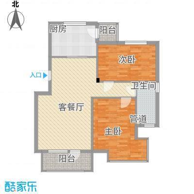 福源山庄福源山庄2室户型2室