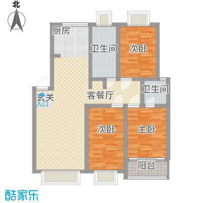 康和苑115.90㎡康和苑户型图321115.93室2厅1卫1厨户型3室2厅1卫1厨