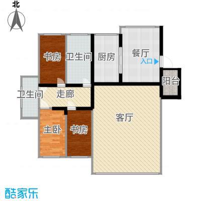 鑫科苑107.00㎡鑫科苑2室户型2室