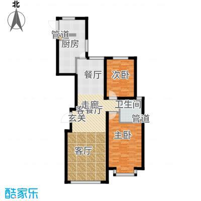 鑫科苑106.00㎡鑫科苑2室户型2室