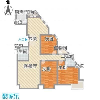 岸上公馆岸上公馆户型图K3室2厅2卫户型3室2厅2卫