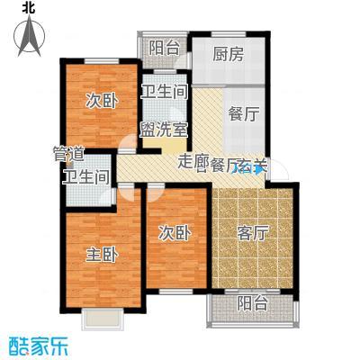 鑫科苑148.00㎡鑫科苑3室户型3室