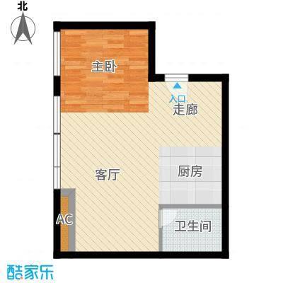 开发区国际大厦63.59㎡开发区国际大厦户型图C户型1室1厅1卫1厨户型1室1厅1卫1厨