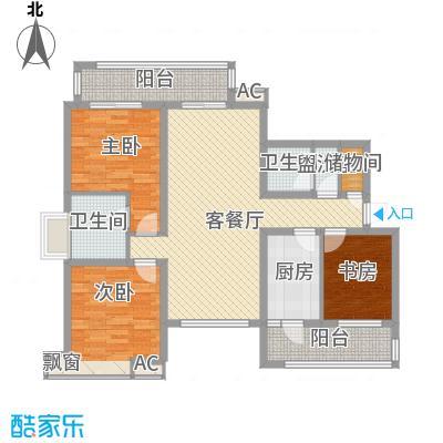 大运盛城四期135.07㎡上海万豪苑(大运盛城四期)户型10室