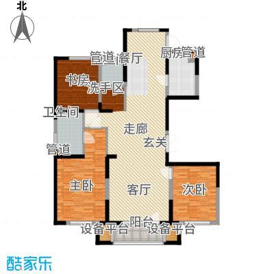 浦江苑159.00㎡浦江苑3室户型3室