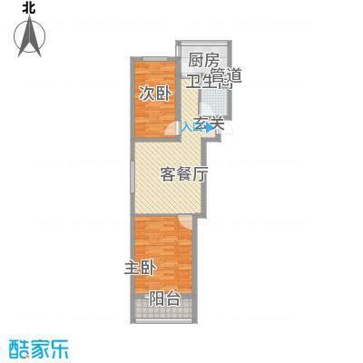 金润花园78.19㎡金润花园户型图户型图2室1厅1卫户型2室1厅1卫