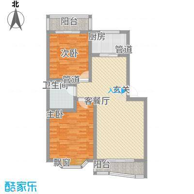 石桥新苑103.17㎡石桥新苑户型图两室两厅一卫户型2室2厅1卫户型2室2厅1卫