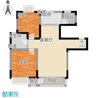 融城时代104.27㎡融城时代户型图2室2厅1卫户型10室