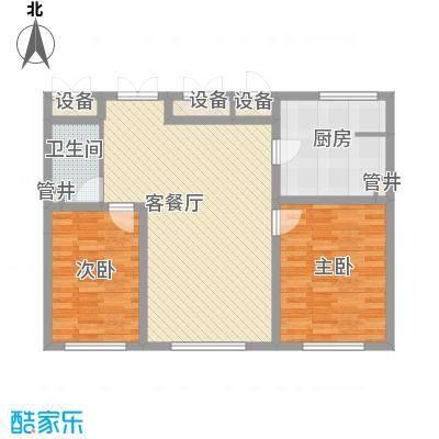 新华国际公寓105.21㎡新华国际公寓户型图2室2厅1卫户型10室