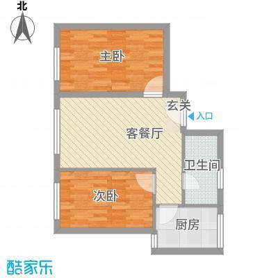 博隆金水湾家园69.00㎡博隆金水湾家园2室户型2室