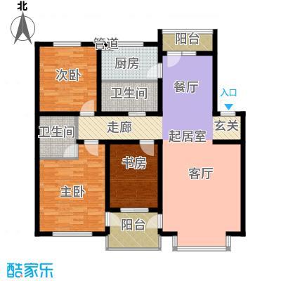 在水一方132.46㎡在水一方户型图3室2厅2卫户型10室