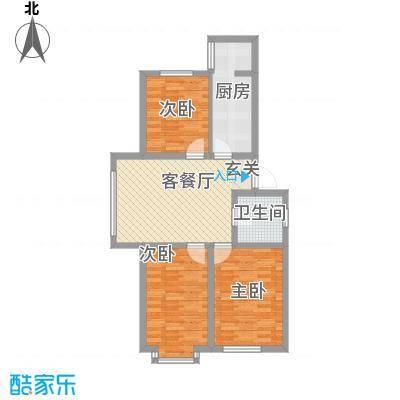 博隆金水湾家园88.87㎡博隆金水湾家园户型图户型图3室2厅1卫户型3室2厅1卫
