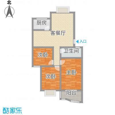 山水城113.00㎡山水城户型图G户型3室2厅户型3室2厅