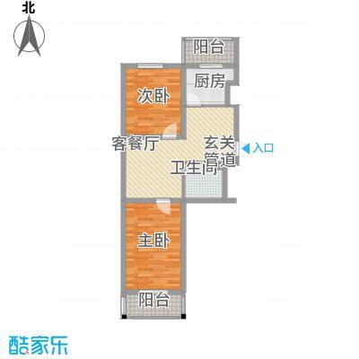 嘉榆新城83.00㎡嘉榆新城户型图户型图22室2厅1卫户型2室2厅1卫
