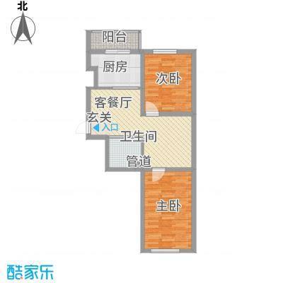 嘉榆新城79.00㎡嘉榆新城户型图户型图32室2厅1卫户型2室2厅1卫