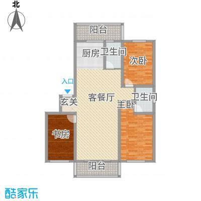 博隆金水湾家园131.73㎡博隆金水湾家园户型图户型图3室2厅2卫户型3室2厅2卫