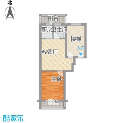 龙盛家园59.14㎡龙盛家园户型图1室1厅1卫户型10室