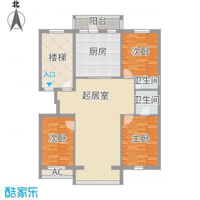 龙盛家园143.36㎡龙盛家园户型10室