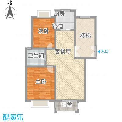 松山小区 3室 户型图