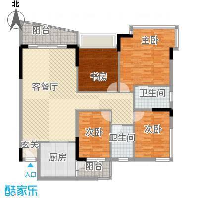 蔚蓝星湖四期蔚蓝星湖四期3室户型3室