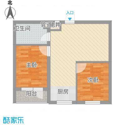 幸福人家65.00㎡幸福人家户型图1、3号楼B户型65室2厅1卫1厨户型5室2厅1卫1厨