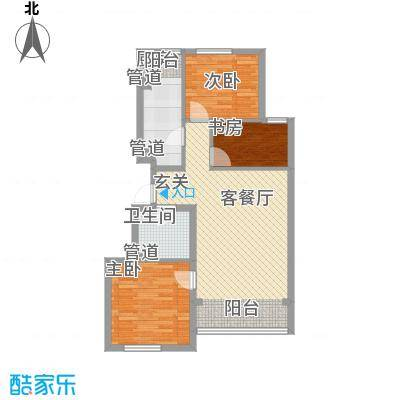 利通花园利通花园3室2厅1卫户型3室2厅1卫