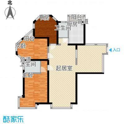 格林梦夏 3室 户型图