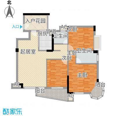 瀛聚大厦138.00㎡瀛聚大厦4室户型4室