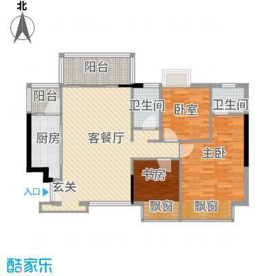 合正锦园 3室 A4-2型户型图