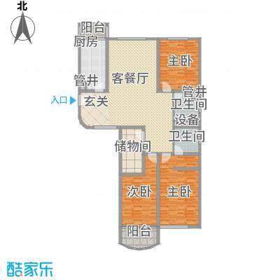国际广场公寓户型图上海 国际广场 户型图 3室2厅2卫1厨