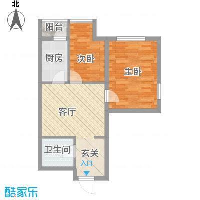 丽阳馨苑67.18㎡丽阳馨苑户型图2室1厅1卫户型10室