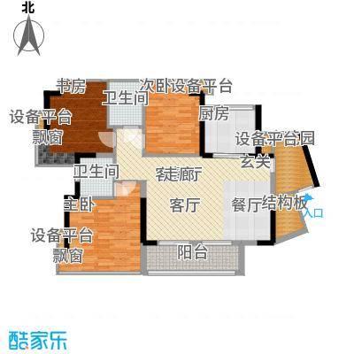 永和新村115.00㎡永和新村3室户型3室
