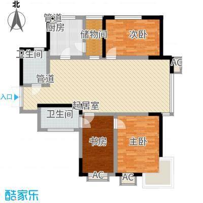 慧缘馨村131.00㎡慧缘馨村3室户型3室