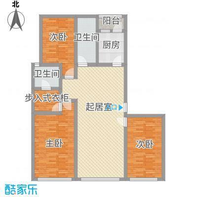 五彩新村115.00㎡五彩新村3室户型3室